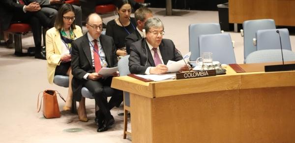 Consejo de Seguridad de la ONU reconoce esfuerzos del Presidente Duque y comparte preocupaciones del Gobierno respecto a seguridad de líderes sociales y ex Farc