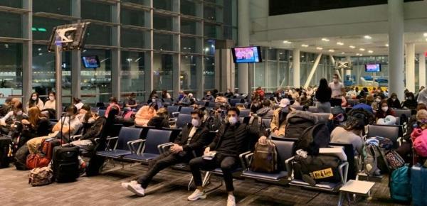 Desde Canadá, regresaron al país 298 colombianos en un vuelo de carácter humanitario