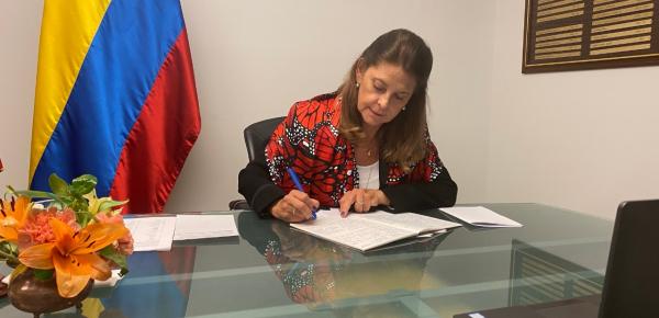 Vicepresidente y Canciller renueva el compromiso de Colombia con el multilateralismo