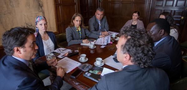 Alto Comisionado Adjunto de Operaciones del Acnur visita Colombia en 2017