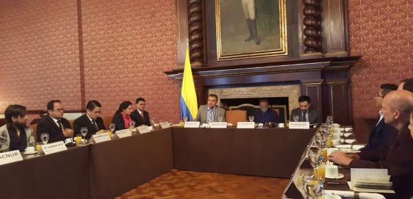 Dirección para el Desarrollo y la Integración Fronteriza de la Cancillería lideró socialización de proyecto de cine en zonas fronterizas