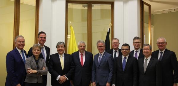 Canciller Trujillo expuso ante empresarios alemanes la agenda económica del Gobierno de Colombia de inversión en el país