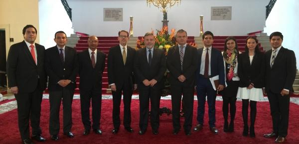 Director para el Desarrollo y la Integración Fronteriza lideró la Décima Secretaría Ejecutiva de la Comisión Binacional de la Zona de Integración Perú y Colombia en septiembre de 2017