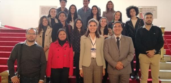 Estudiantes de la Pontificia Universidad Javeriana visitaron la Academia Diplomática 'Augusto Ramírez Ocampo'