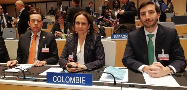 Colombia participó en la sesión de elección del Director de la OMPI