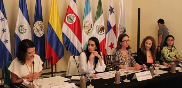Colombia inició su Presidencia Pro Témpore del Proyecto Mesoamérica con la celebración de la Primera Comisión Ejecutiva