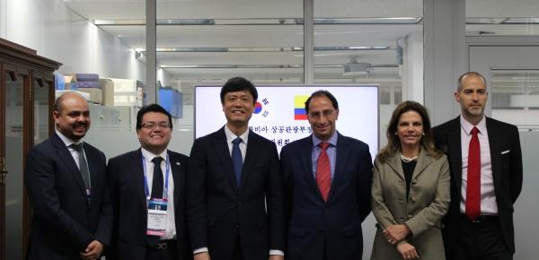Corea es socio en la implementación de la Cuarta Revolución Industrial en Colombia
