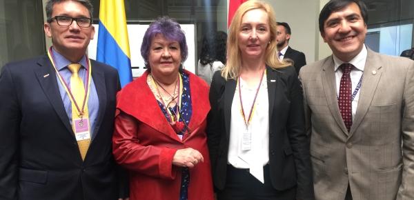 En la Cancillería, Misión Diplomática de Croacia realizó conferencia sobre sus relaciones bilaterales
