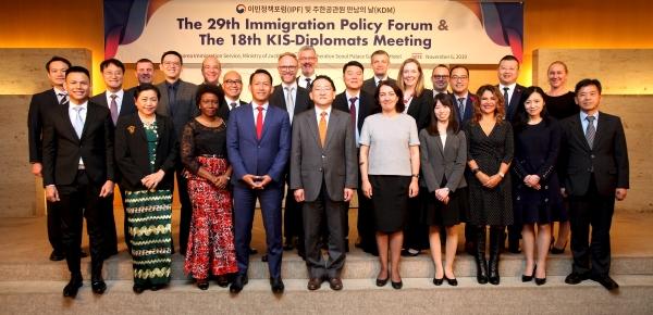 Colombia participó en la XII Conferencia de Líderes en Inmigración, en Corea del Sur