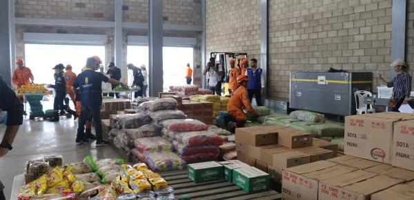 Centro de Acopio de Ayuda Humanitaria en Cúcuta para el pueblo de Venezuela