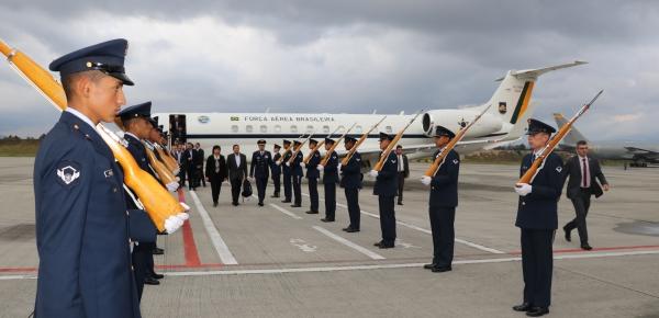 Hamilton Mourão, Vicepresidente de Brasil, llegó a Colombia para asistir a la Reunión del Grupo de Lima