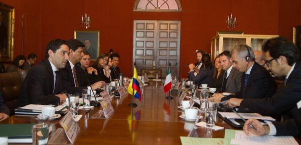 Colombia e Italia adelantan negociaciones en materia judicial