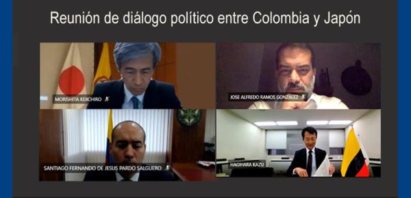 Colombia y Japón llevaron a cabo la reunión de diálogo político