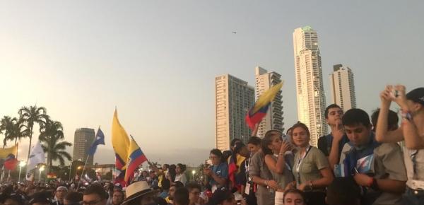Con normalidad transcurre el cuarto día de la Jornada de la Juventud en Panamá