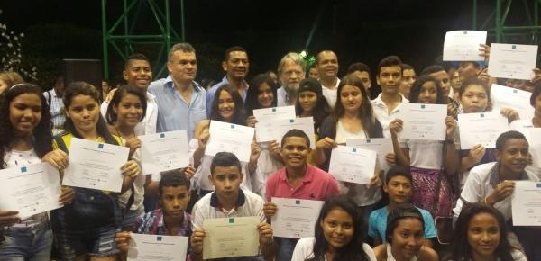 Cancillería participó en cierre de programa 'Cultura Ciudadana' en La Paz, Cesar