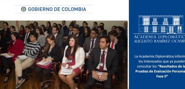 """La Academia Diplomática informa a los interesados que ya pueden consultar los """"Resultados de las Pruebas de Evaluación Personal – Fase II"""" en 2017"""