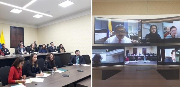 La Dirección de Asuntos Migratorios, Consulares y Servicio al Ciudadano continúa su trabajo para fortalecer la labor de los consulados