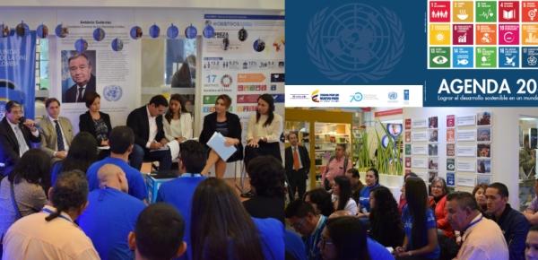"""En la Feria Internacional del Libro (Filbo) se realizó el lanzamiento del libro """"Agenda 2030. Lograr el desarrollo sostenible en un mundo diverso"""""""