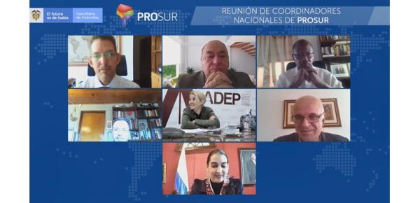 La Presidencia Pro Tempore de PROSUR, en cabeza de Colombia, lidera su III reunión de coordinadores