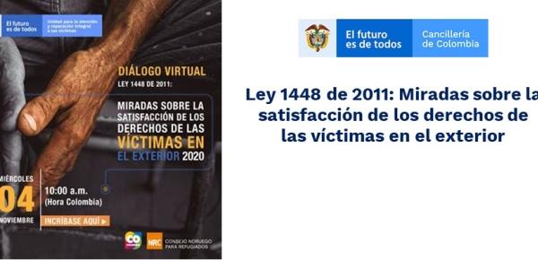 Ley 1448 de 2011: Miradas sobre la satisfacción de los derechos de las víctimas