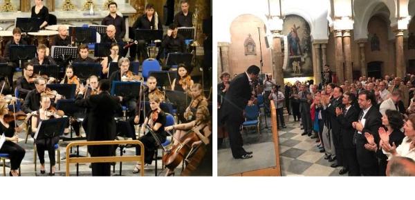 El Maestro colombiano Germán Gutiérrez dirigió la Orquesta Filarmónica del Líbano