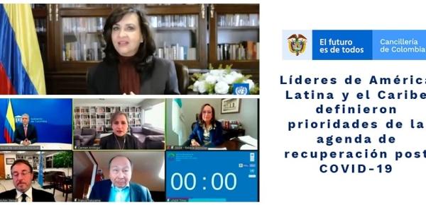 Líderes de América Latina y el Caribe definieron prioridades de la agenda