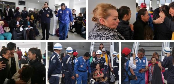 Cancillería, Ministerio de Defensa y Fuerza Aérea de Colombia trasladaron desde Puerto Rico hacia Colombia a otras 163 personas damnificadas por huracán