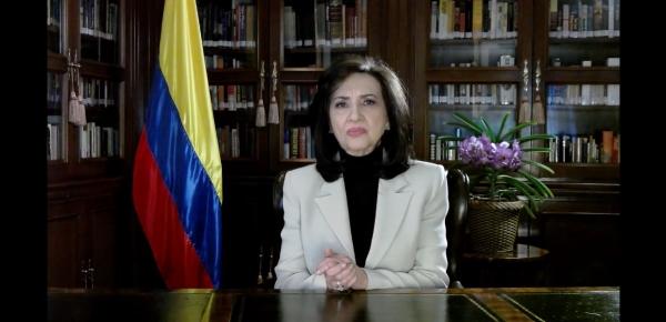 Canciller Claudia Blum realiza balance del Ministerio de Relaciones Exteriores, en los dos años de Gobierno del Presidente Iván Duque