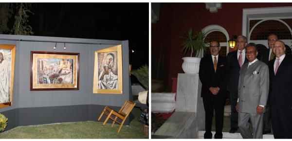 Los países de la Alianza del Pacífico rinden homenaje al artista plástico colombiano Américo Lozano en el Cairo
