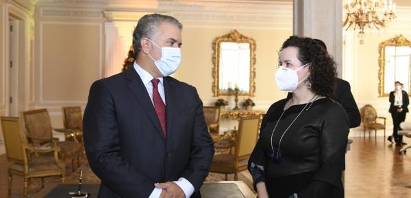 Marcela Ordóñez, nueva Embajadora de Colombia