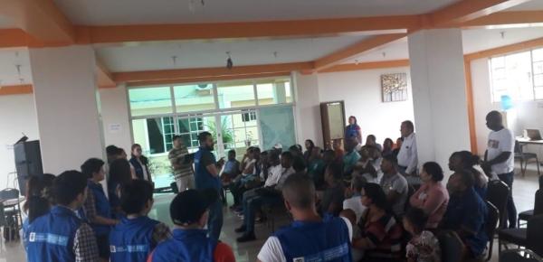 Más de 300 colombianos fueron beneficiados en el inicio de las jornadas de atención a víctimas