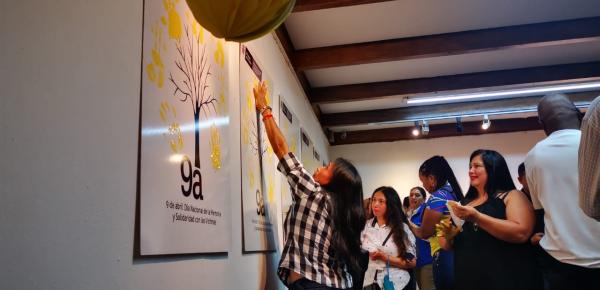 En San José de Costa Rica conmemoran a las víctimas