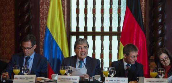 Canciller Carlos Holmes Trujillo participó en reunión del Grupo de Cooperantes con el fin de coordinar la cooperación internacional en el departamento de Norte de Santander