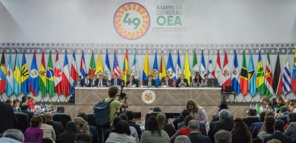 OEA resaltó apoyo al Gobierno Nacional en la estabilización de los territorios y la búsqueda de una convivencia pacífica