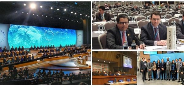 El Ministerio de Relaciones Exteriores impulsó la agenda internacional en temáticas de cambio climático, océanos, biodiversidad, sustancias químicas, entre otros, para la protección del planeta