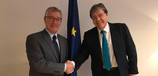 Ministro Trujillo se reunió con el Director General para Asuntos Marítimos y Pesca de la Comisión Europea