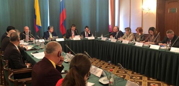 Ministro Holmes Trujillo copresidió la VII Reunión de la Comisión Mixta Intergubernamental ruso-colombiana