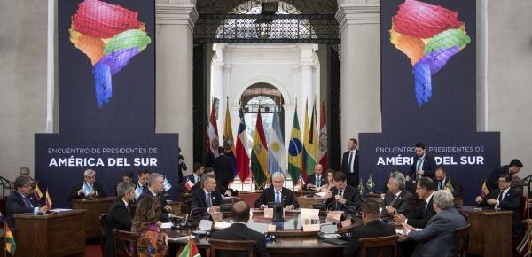 Durante el diálogo para la coordinación y colaboración en América del Sur, el Presidente de Chile ofreció un agradecimiento especial a su homólogo colombiano, Iván Duque