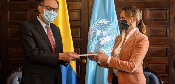 Cancillería y nueva representante del PNUD continuarán impulsando proyectos prioritarios de la agenda nacional