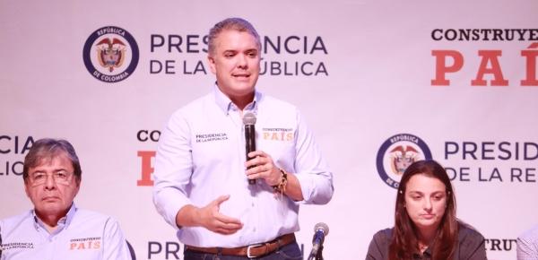 """""""Nuestra comunidad colombiana en el exterior todos los días construye país"""": Presidente Iván Duque Márquez al instalar el Primer Taller Construyendo País Internacional"""