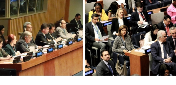 Canciller Holguín asistió a la 41° Reunión de Ministros y Ministras de Relaciones Exteriores del G77 y China