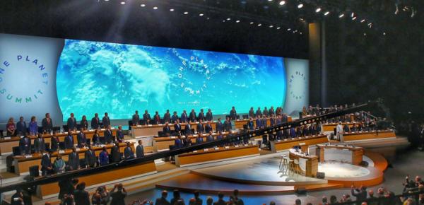 Colombia participó en la Cumbre One Planet donde se lanzó una coalición de múltiples actores y nueve iniciativas para afrontar cambio climático