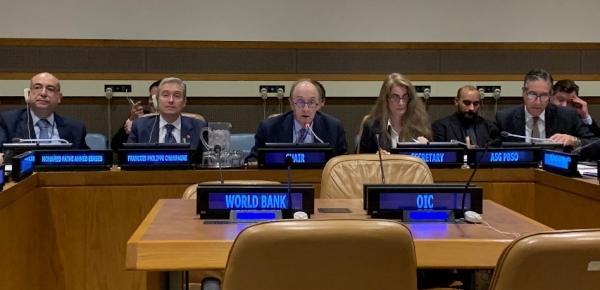 Embajador Guillermo Fernández de Soto presidio la sesión especial de la Comisión de Consolidación de la Paz con la participación del Ministro de Asuntos Exteriores de Canadá