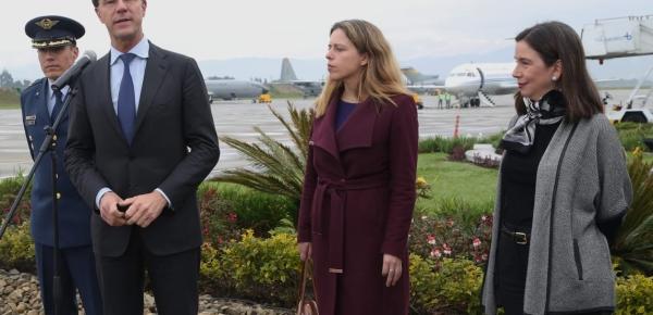 Primer Ministro de Países Bajos, Mark Rutte, visita Colombia para revisar asuntos de la agenda bilateral