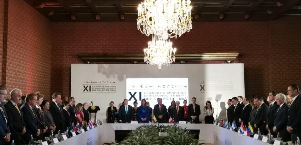 El Presidente y la Vicepresidenta de Panamá, Juan Carlos Varela Rodríguez e Isabel de Saint Malo de Alvarado, participaron en la reunión del Grupo de Lima que se realizó en Bogotá