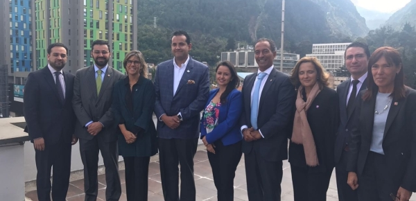 La Secretaria de Estado de Educación, Ciencia y Tecnología de Portugal visitó Colombia