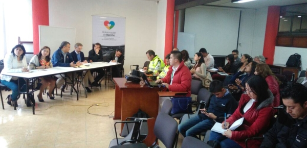 Delegados de la Unión Europea y la Dirección para el Desarrollo y la Integración Fronteriza visitaron Ipiales