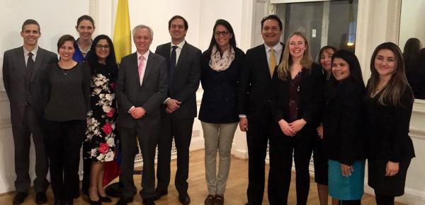 Embajada de Colombia recibió a delegación de universidades nacionales que visita Reino Unido para fortalecer alianzas académicas