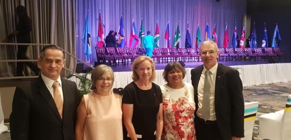 La Embajadora Martha Cecilia Pinilla participó en la Cumbre 40 de Jefes de Gobierno Caricom que tuvo lugar en Santa Lucía