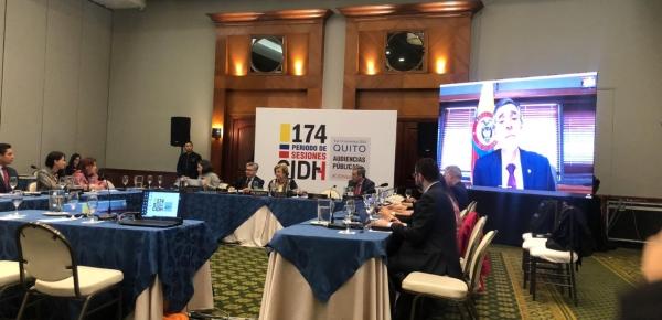 Delegación colombiana participó en el  Período de Sesiones de la Comisión Interamericana de Derechos Humanos
